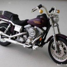 Motos a escala: MOTO HARLEY DAVIDSON ESCALA 1.18. Lote 143663106
