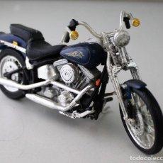 Motos a escala: MOTO HARLEY DAVIDSON ESCALA 1.18. Lote 143663126