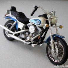 Motos a escala: MOTO HARLEY DAVIDSON ESCALA 1.18. Lote 143663138