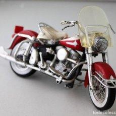 Motos a escala: MOTO HARLEY DAVIDSON ESCALA 1.18. Lote 143663150