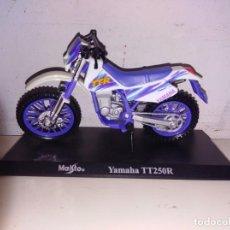 Motos a escala: MOTO A ESCALA MAISTO CON PEANA YAMAHA TT 250 R. Lote 149688293