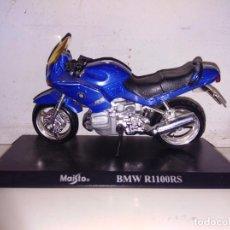 Motos a escala: MOTO A ESCALA MAISTO CON PEANA BMW R 1100 RS. Lote 143727642