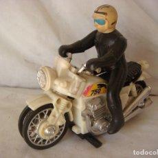 Motos a escala: MOTO ANTIGUA EN PLASTICO AÑO 70 (#).. Lote 144084758