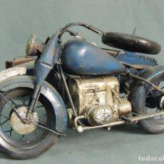 Motos a escala: MOTO CON SIDECAR. Lote 144168026