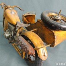 Motos a escala: MOTO CON SIDECAR. Lote 144168830
