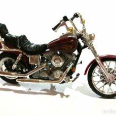 Motos a escala: MOTOCICLETA HARLEY DAVIDSON DYNA WIDE GLIDE, EDICIÓN MAISTO ,ESCALA 1:18, 1/18 , NO A SIDO RODADA *. Lote 145736838