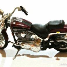 Motos a escala: MOTOCICLETA HARLEY DAVIDSON SPRINGER SOFTAIL , EDICIÓN MAISTO ,ESCALA 1:18, 1/18, NO A SIDO RODADA *. Lote 145738254