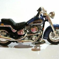 Motos a escala: MOTOCICLETA HARLEY DAVIDSON STURGIS DYNA GLIDE, EDICIÓN MAISTO ,ESCALA 1:18. 1/18, NO A SIDO RODADA*. Lote 145740646