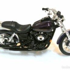 Motos a escala: MOTOCICLETA HARLEY DAVIDSON SUPER GLIDE SPORT, EDICIÓN MAISTO , 13 CMS. Lote 145784894