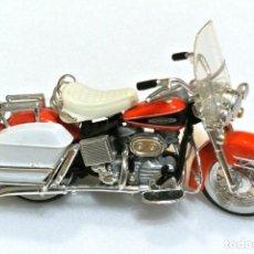 Motos a escala: MOTOCICLETA HARLEY DAVIDSON ELECTRA GLIDE, EDICIÓN MAISTO , 13 CMS. Lote 145785162
