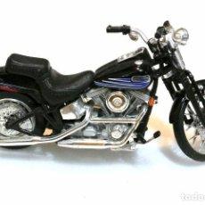 Motos a escala: MOTOCICLETA HARLEY DAVIDSON BAD BOY , EDICIÓN MAISTO , 13 CMS. Lote 145785382