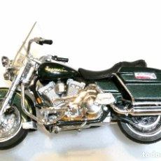 Motos a escala: MOTOCICLETA HARLEY DAVIDSON ROAD KING, EDICIÓN MAISTO , 13 CMS. Lote 145786274