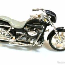 Motos a escala: MOTOCICLETA HARLEY DAVIDSON FXDWG DYNA WIDE GLIDE, EDICIÓN MAISTO , 13 CMS. Lote 145786386