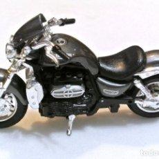 Motos a escala: MOTOCICLETA TRIUMPH ROCKET III , EDICIÓN URAGO , 13.5 CMS. Lote 145790030