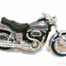 Motos a escala: MOTOCICLETA HARLEY DAVIDSON 1200 , EDICIÓN MAISTO , 12.5 CMS. Lote 145803478