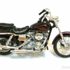 Motos a escala: MOTOCICLETA HARLEY DAVIDSON DYNA LOW RIDER , EDICIÓN MAISTO , 13 CMS. Lote 145805742