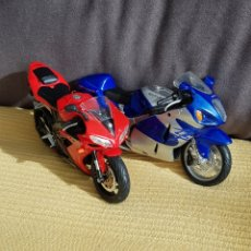 Motos a escala: 2 MOTOS A ESCALA, MARCA MAISTO. Lote 145811366