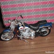 Motos a escala: MOTO A ESCALA HARLEY DAVISON MAISTO. Lote 145974294