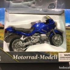 Motos a escala: MOTO BMW - MOTORRAD MODEL - ESCALA 1:18 - EN BLISTER - 6 FOTOS. Lote 146149154