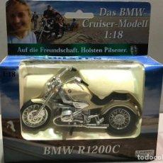 Motos a escala: MOTO BMW R 1200 C - MOTORRAD MODEL - ESCALA 1:18 - EN BLISTER - 8 FOTOS. Lote 146149470