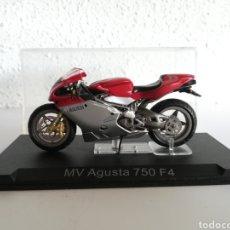 Motos a escala: MV AGUSTA 750 F4 - RÉPLICA MINIATURA MOTO MOTOCICLETA ALTAYA IXO. Lote 147100442
