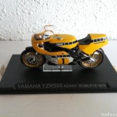 Motos a escala: YAMAHA YZR 500 KENNY ROBERTS 1979 - RÉPLICA MINIATURA MOTO MOTOCICLETA. Lote 147101922
