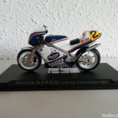 Motos a escala: HONDA NSR 500 WAYNE GARDNER 1987 - MINIATURA RÉPLICA MOTO MOTOCICLETA. Lote 147102397