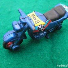 Motos a escala: MOTO DE METAL BMW COLOR AZUL SIN MARCA DE FABRICANTE. . Lote 147293806