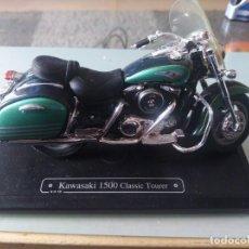 Motos a escala: MOTO A ESCALA MAISTO KAWASAKI 1500 CLASSIC TOURER. Lote 147307386
