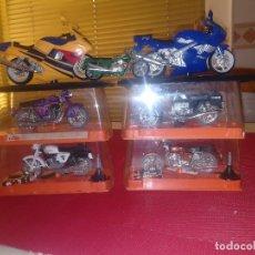 Motos a escala: LOTE MOTOS GUILOY - AÑOS 70/80 - 7 MOTOS - 4 CON ESTUCHE. Lote 148174062