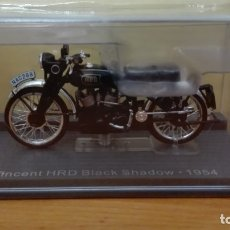 Motos a escala: VINCENT HRD BLACK SHADOW 1954 1/24 ALTAYA-IXO. Lote 108374727