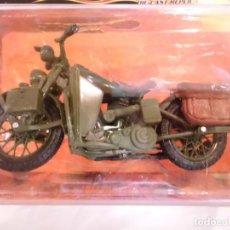 Motos a escala: REPLICA MOTO HARLEY-DAVIDSON - 1942 WLA FLATHEAD - ESCALA 1:18 - NUEVA EN CAJA ORIGINAL. Lote 150582806