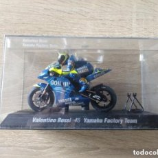 Motos a escala: VALENTINO ROSSI 46 * SCALEXTRIC * YAMAHA FACTORY TEAM * THE DOCTOR * MOTO GP. Lote 151012414