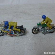 Motos a escala: LOTE 2 ANTIGUA MOTO DE JUGUETE, UNA GUZZI. . Lote 151424818