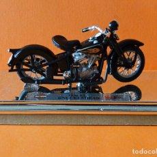 Motos a escala: HARLEY DAVIDSON - KNUCKLEHEAD 1936 EL - MAISTO - 1: 18 - EN SU CAJA. Lote 170709873