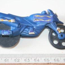 Motos a escala: MOTO (MINI) A ESCALA *** PLÁSTICO / PVC/ GOMA *** TENGO MÁS LOTES. Lote 153789846