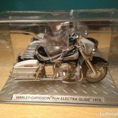 Motos a escala: 1/24 HARLEY-DAVIDSON FLH ELECTRA GLIDE 1970 . Lote 154695714