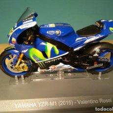 Motos a escala: YAMAHA YZR M1 46-VALENTINO ROSSI MOTO GP-2015 ALTAYA 1/18. Lote 154697394
