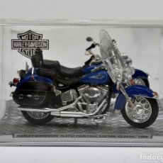 Motos a escala: HARLEY-DAVIDSON FLS SOFTTAIL SLIM 2013 (1/24). Lote 154927130