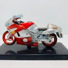 Motos a escala: MOTO DE COLECCIÓN SÚPER RACER. Lote 156260829