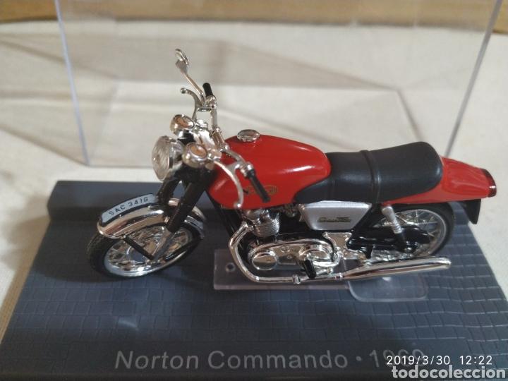 NORTON COMMANDO,COLECCIÓN MINI (Juguetes - Motos a Escala)