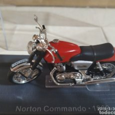 Motos a escala: NORTON COMMANDO,COLECCIÓN MINI. Lote 157810732