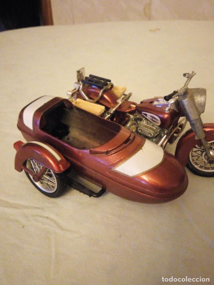 Motos a escala: Harley Davidson-Tonka/Polistil-Electra Glide Classic Diecast w S.1980,escala 1/15.made in italy - Foto 3 - 157974126