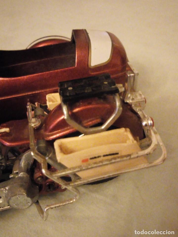 Motos a escala: Harley Davidson-Tonka/Polistil-Electra Glide Classic Diecast w S.1980,escala 1/15.made in italy - Foto 5 - 157974126