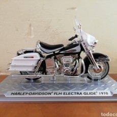 Motos a escala: H-D FLH ELECTRA GLIDE 1970. Lote 159199313