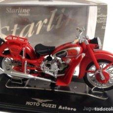 Motos a escala: MOTO GUZZI ASTORE 1:24 MOTO STARLINE MODELS DIECAST. Lote 195161916
