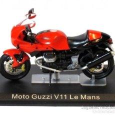 Motos a escala: MOTO GUZZI V11 LE MANS 1:24 IXO ALTAYA DIECAST MOTOTICLETA. Lote 165914817