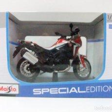 Motos a escala: MOTO HONDA AFRICA TWIN DCT - MAISTO SPECIAL EDITION ESC 1:18 DIECAST MINIATURA MOTOCICLETA. Lote 180248008