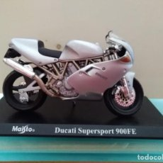 Motos a escala: MOTO DUCATI SUPERSPORT 900 FE ESCALA 1/18. Lote 168053528