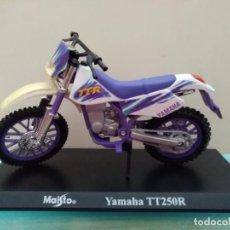 Motos a escala: MOTO YAMAHA TT250R MAISTO ESCALA 1/18. Lote 168053884